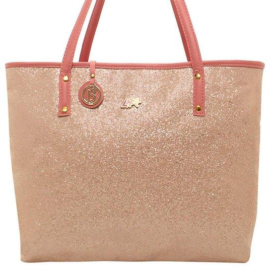 6aaf13956a66c Bolsa Shopperbag Shine Larissa Manoela Birô - Compre Agora   Zattini
