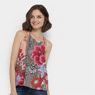 302b156ca Blusa Farm Estampa Floral Telaviv Feminina