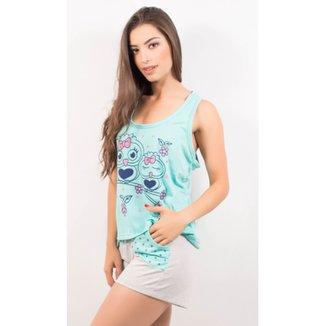 2a7818535 Pijama Short Doll Feminino Tal Mãe