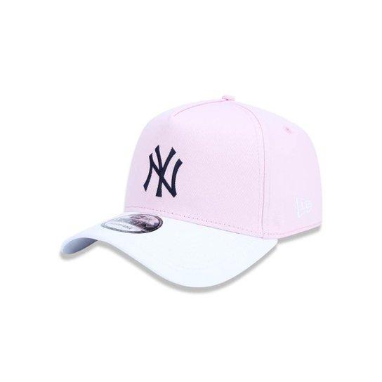 9eac20a4f Bone 940 New York Yankees MLB New Era - Rosa - Compre Agora