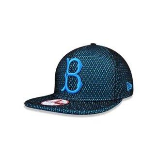 87bc4716a5613 Boné 950 Original Fit Brooklyn Dodgers MLB Aba Reta Snapback New Era