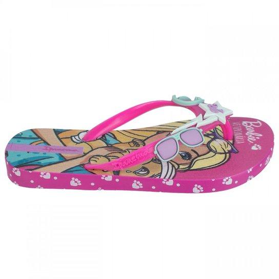 d8268f938b Chinelo Infantil Grendene Ipanema Barbie Profissões 26016 - Rosa ...