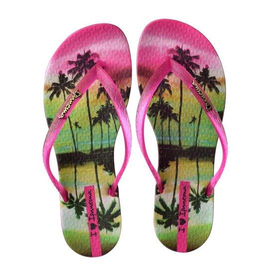 4098658e61 Chinelo Feminino Wave Summer Ipanema - Rosa - Compre Agora