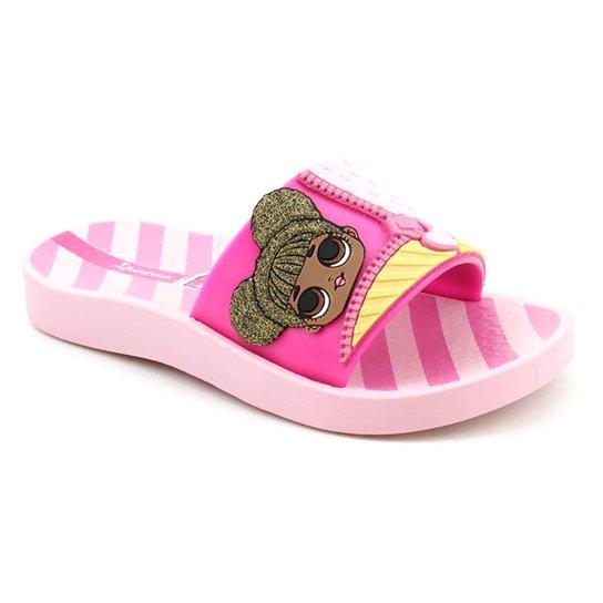 5c8e467677 Chinelo Slide Lol Infantil Grendene Feminino - Compre Agora