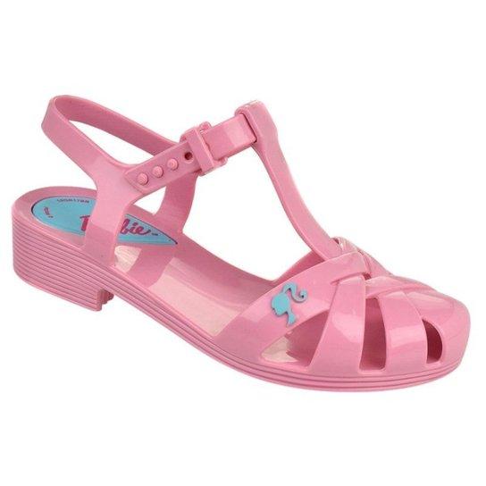 ee854b8ac Sandália Infantil Grendene Barbie Festa na Piscina Brinde Feminina - Rosa