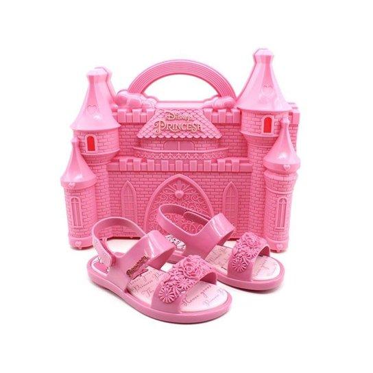 Sandália Infantil Princesas Castelo Grendene 21863 Feminina - Compre ... ed334c31118