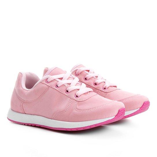 c7635e5fbc7 Tênis Infantil Via Vip Jogging Camurça Feminino - Compre Agora