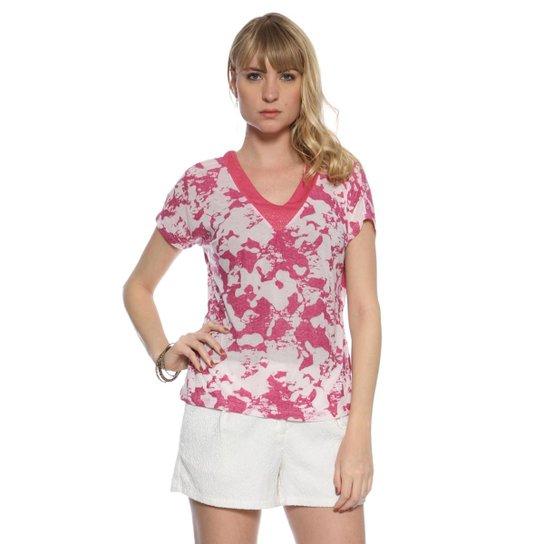 69f04b50c Blusa Moché - Rosa - Compre Agora