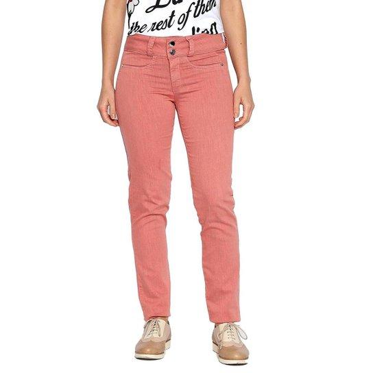 3883b04925 Calça Tecido Moché Feminina - Rosa - Compre Agora