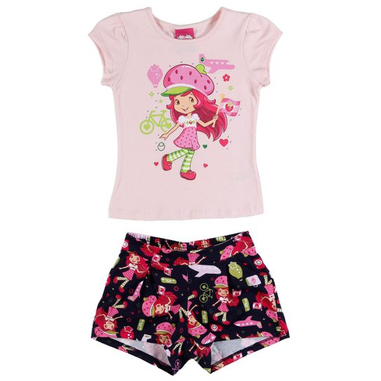 01811cfff Conjunto Moranguinho Infantil Strawberry Feminino | Zattini