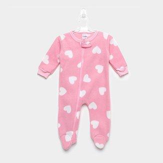 0f41cec5e6 Macacão Bebê Candy Kids Soft Corações