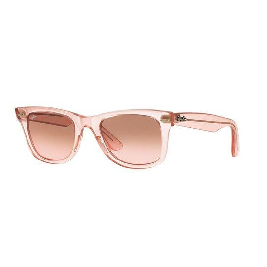 13b6a300a Óculos de Sol Ray-Ban RB2140 Original Wayfarer Ice Pops Melancia - Rosa