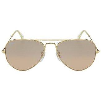 2b0bca36c7a Óculos de Sol Ray-Ban Aviator 58 RB3025 Esp Dr Az 112-17