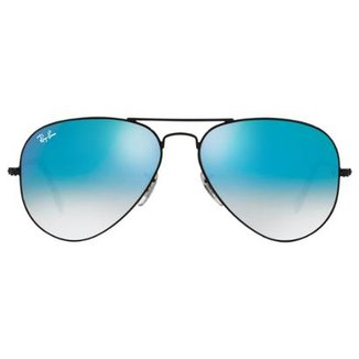 Óculos de Sol Ray-Ban Aviator 58 RB3025 Esp Dr Az 112-17 7d5ffc49e80