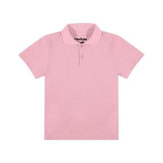 5f41f161e Camisa Polo Infantil Rovitex Kids Masculina