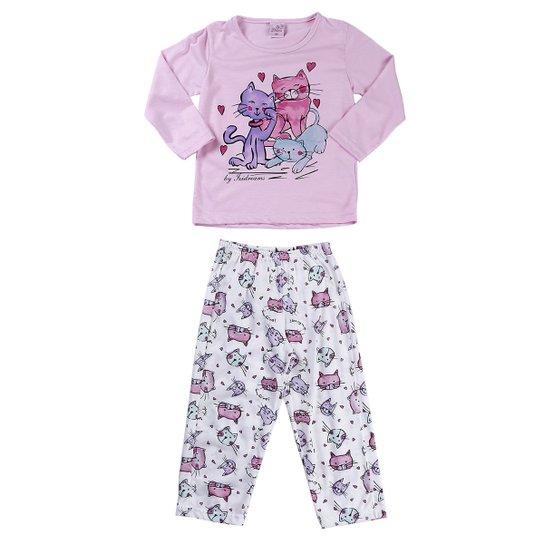 2d59ffa229c960 Pijama Izi Dreams Longo Infantil - Compre Agora | Zattini