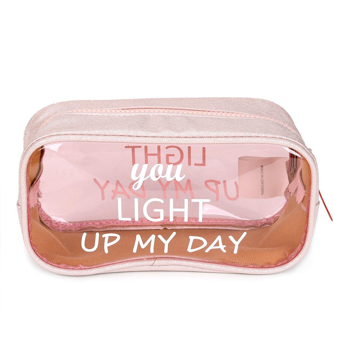 Necessaire Drezzup You Light Up my Day Feminina