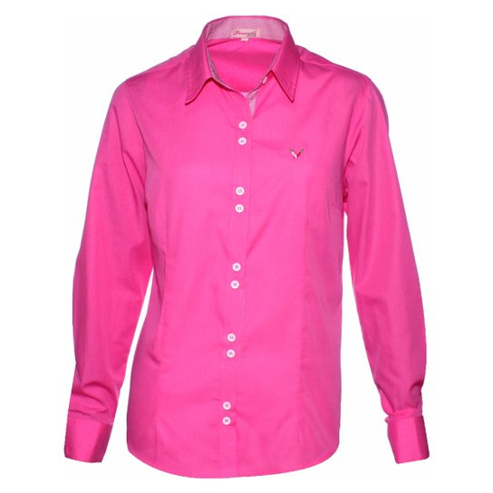 7c3fd6e00d Camisa Pimenta Rosada Lorraine - Rosa - Compre Agora