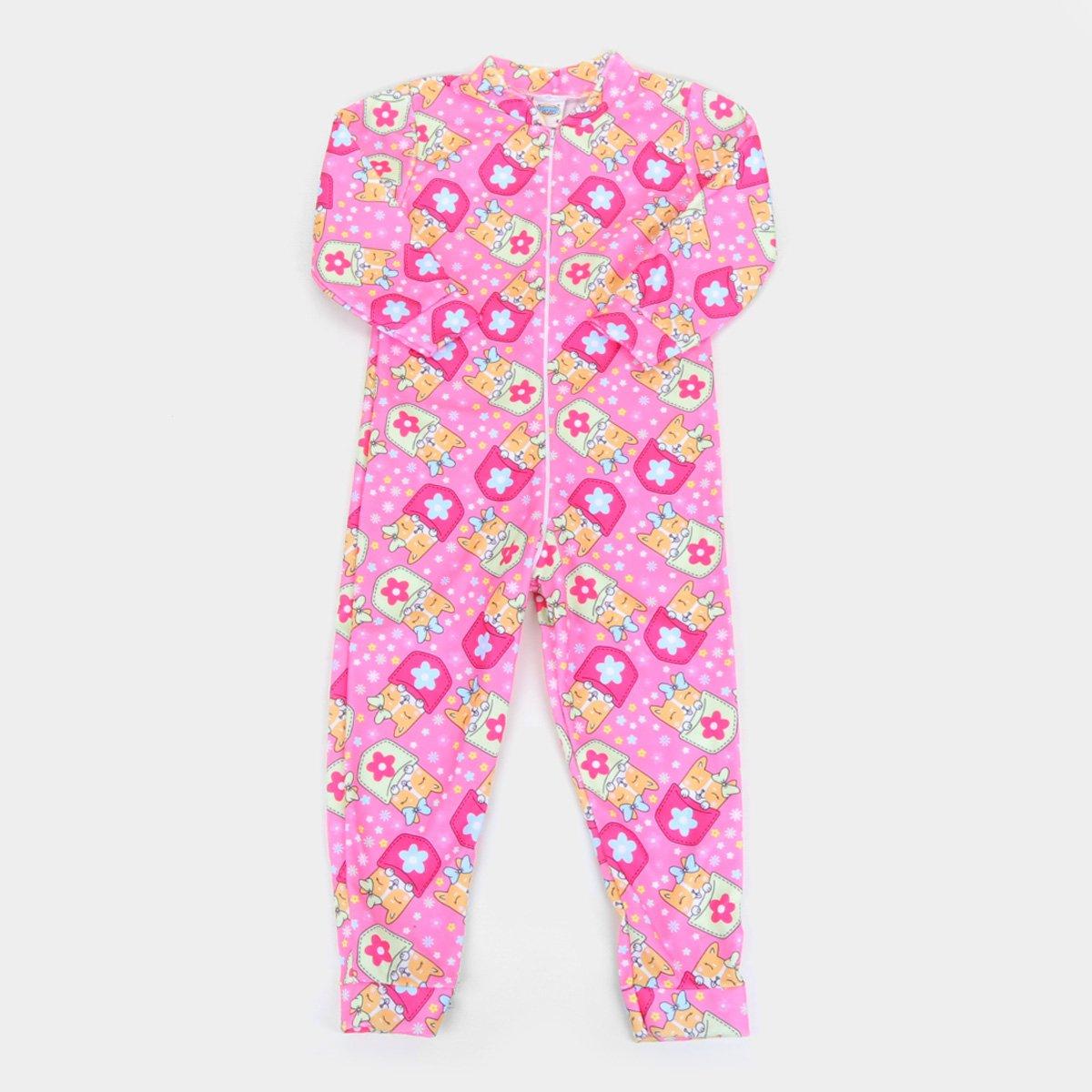 Pijama Bebê Duzizo Macacão Soft Estampado