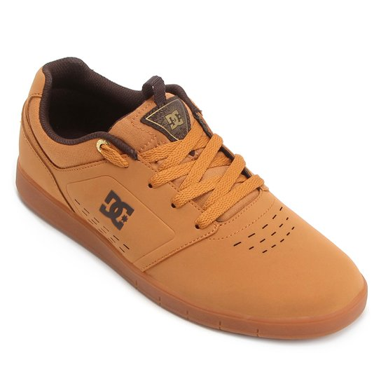 399e065bb7e312 Tênis DC Shoes Cole Signature Masculino - Caramelo