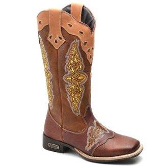 cea5f35cd Botas Top Franca Shoes Caramelo - Calçados | Zattini