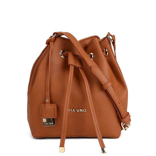 Bolsa Via Uno Saco Plaquinha Feminina - Compre Agora  27bf2cfe776ce