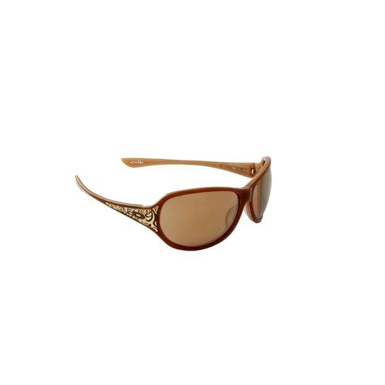 2eda2f037 Óculos de Sol Oakley 100% Proteção UV Óptica Melani Feminino - Caramelo