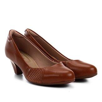 2b97034f42 Scarpins Modare Feminino Caramelo - Calçados