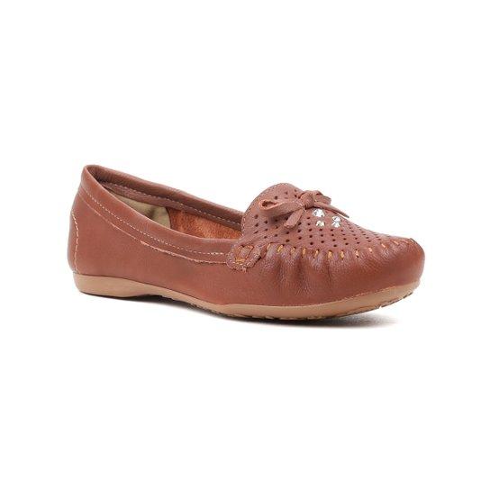 67621e8b0 Sapato Mocassim Feminino Dakota Caramelo - Compre Agora | Zattini