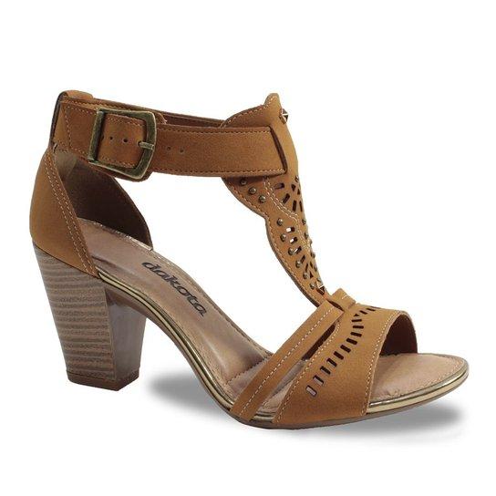 b0545e139b Sandália de Salto Feminino Dakota - Compre Agora