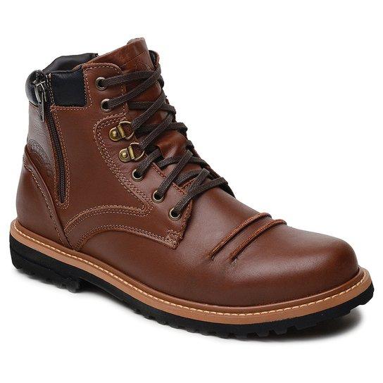 Bota Casual Em Couro Gogowear Hummer - Compre Agora  0b050a8ce374e