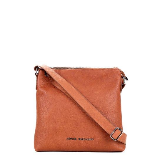 092df13432 Bolsa Transversal Couro Jorge Bischoff Feminina - Compre Agora