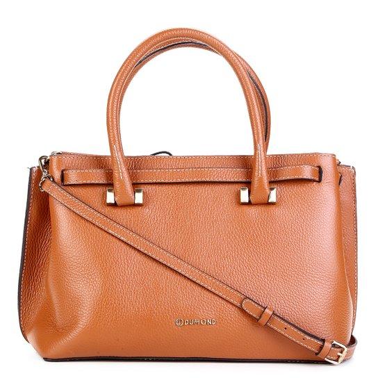 aa1befa41 Bolsa Couro Dumond Handbag Soft Básica Feminina - Caramelo | Zattini