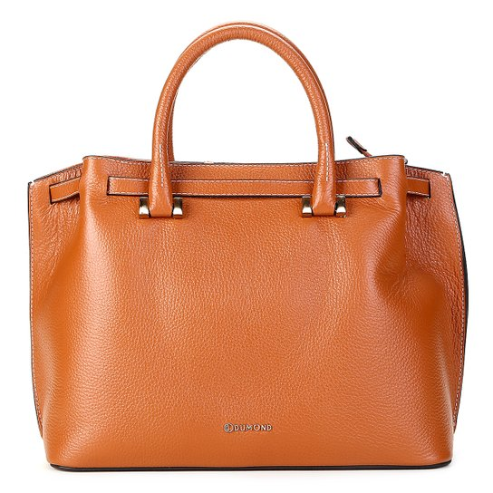 7c52ff1ac Bolsa Couro Dumond Shopper Grande Feminina - Caramelo | Zattini