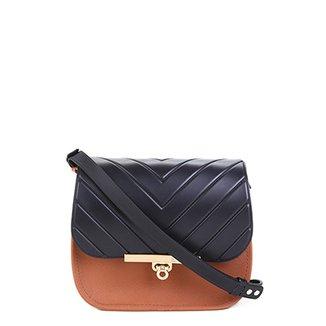 adac630bbf Bolsa Couro Dumond Mini Bag London Feminina