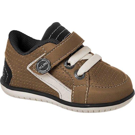 732d741683b Sapato Bebê Masculino Klin Cravinho Casual Furinhos - Compre Agora ...