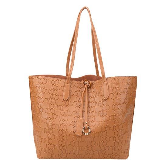 b6445c375 Bolsa Colcci Tote Shopper Feminina - Caramelo - Compre Agora