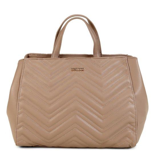 d724a85c4 Bolsa Colcci Handbag Letras Matelassê Feminina - Caramelo | Zattini
