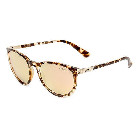 14a62a6d82ee3 Óculos de Sol Colcci Donna C0030F7546 Feminino - Caramelo - Compre ...