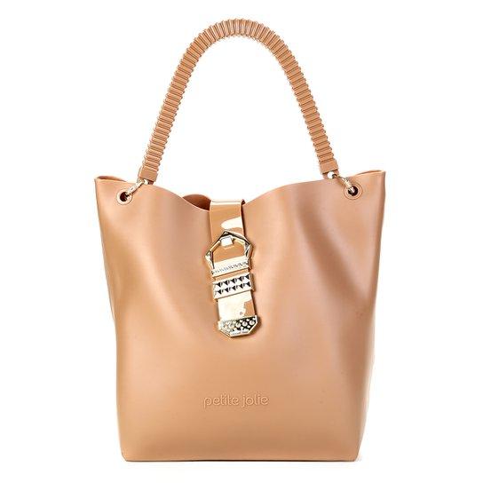 cb0f75fa2 Bolsa Petite Jolie Shopper City Bag - Caramelo   Zattini