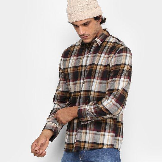 ab168784ab879 Camisa Ellus Flanelada Xadrez Masculina - Compre Agora