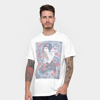 Camiseta MCD Especial Body Tattoo Gueixa Christian Ar Masculina ae89f7b1248