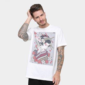 Camiseta MCD Especial Body Tattoo Gueixa Fame Masculina 1130fe9f8a7