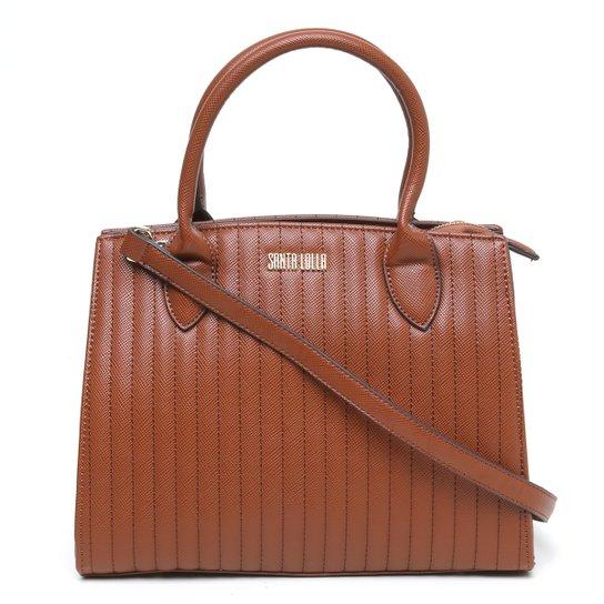 37b752820 Bolsa Santa Lolla Shopper Matelassê Estruturada Feminina - Compre ...