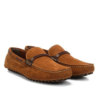 ebd289a2a3 Mocassim Couro Wakalbout Oliver Nobuck Masculino