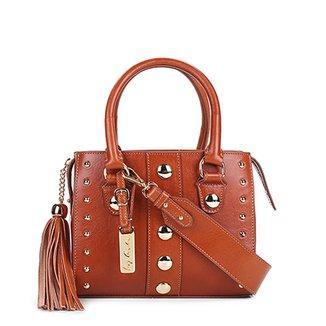 5f6003267ad40 Bolsa Couro Luiza Barcelos Mini Bag Leather Feminina