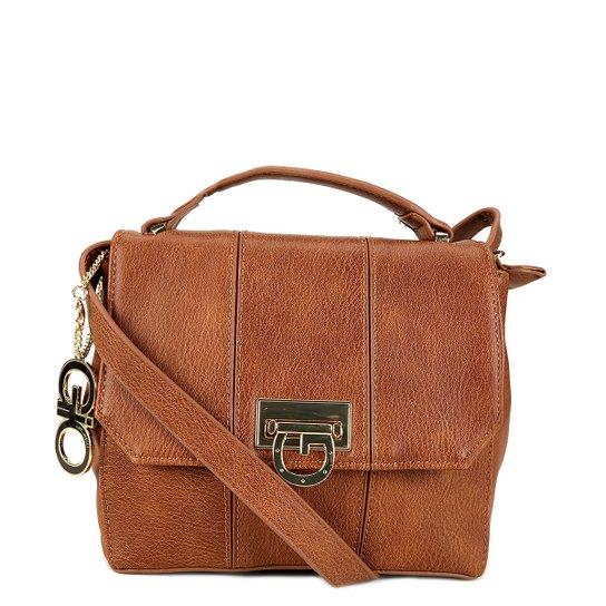86a739834 Bolsa Semax Mini Bag Gio Antonelli Feminina - Caramelo