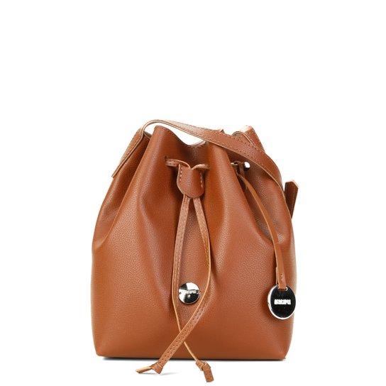 2e7b31f2b1 Bolsa Anacapri Saco Transversal Eco New Feminina - Caramelo - Compre ...