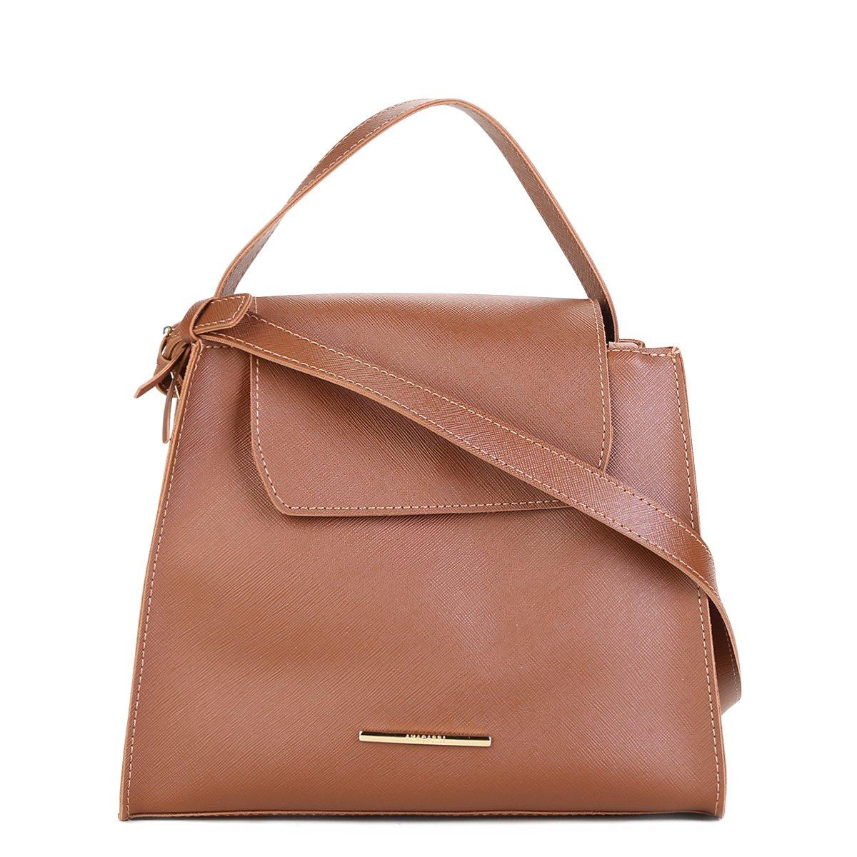 d7344b27fe Bolsa Anacapri Safiano Capri Handbag Feminina