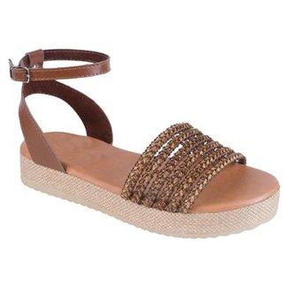 b48f5b278e Sandália Flatform Jurerê Mercedita Shoes Feminina